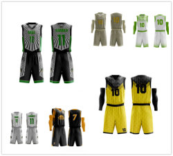 Les hommes de compression de la Cool OEM Sportswear SUBLIMATION Maillot de basket-ball Sports Fonction