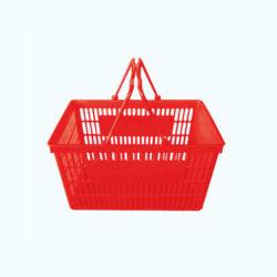 Cestino di acquisto di plastica popolare fatto di Changshu, Cina da vendere