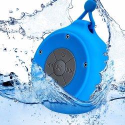 携帯用防水音楽吊り鎖の締縄が付いている無線スピーカーのシャワーのスピーカー