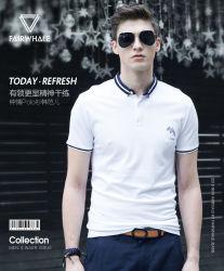 OEM T-shirt de Van uitstekende kwaliteit van de Hals van het Polo van de Mensen van de Manier van de Fabriek