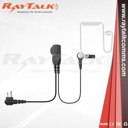 Kits de vigilância de 2 fios do fone de ouvido para rádio de duas vias