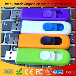 Нажмите и потяните /сдвижной рекламы флэш-накопителя USB/карты памяти Memory Stick
