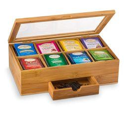 Роскошь для приготовления чая и системы хранения данных для грудной клетки, 4-8 блока W/твердых крышки багажника