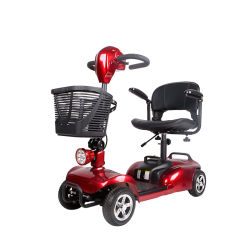 Quatro Rodas Scooter eléctrico com o assento para a Mobilidade