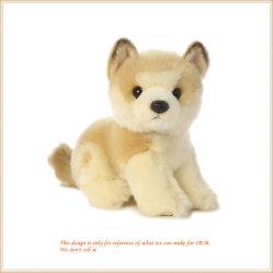 Chiot doux commerce de gros de jouets en peluche poupée animale OEM