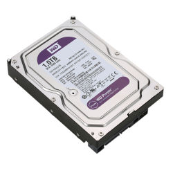 1tb機密保護DVR NVRのためのハードディスク・ドライブ3.5インチSATAのハード・ドライブWd紫色HDD