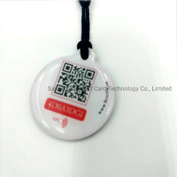 PVC NFC Epoxi etiquetas NFC etiqueta RFID con el código QR