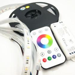 Commerce de gros étanche IP68 SMD LED RGBW Bande souple de la corde pour la décoration d'éclairage