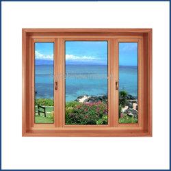 Fenêtre PVC couleur bois avec isolation en verre