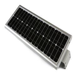Rue lumière solaire intégré 50W à LED de plein air tout en un jardin avec de bons prix Lumières