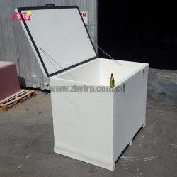 Kundenspezifischer Großhandelsplastikeis-Kühlvorrichtung-Fiberglas-Kasten