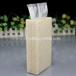 Custom пластиковый пакет для вакуумной упаковки кирпича мешков риса