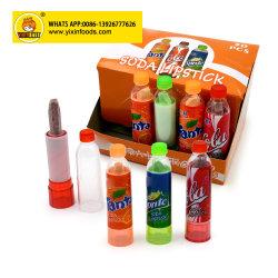 Magische süsse harte Soda-Lippenstift-Presse-Süßigkeit