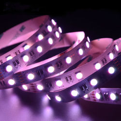 5050 striscia flessibile dell'indicatore luminoso LED del nastro del nastro di 4in1 Rgbww RGBW 12V 24V LED