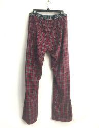 Los hombres 100% algodón tejida Yarn-DyedModa Plaid Pants