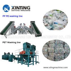 De plastic PE van pp Lijn van de Machine van de Was van de Film Kringloop