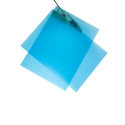van 0.48mm Doorzichtig Blauw Kleur Berijpt Plastic pp- Blad voor de Zakken van het Dossier
