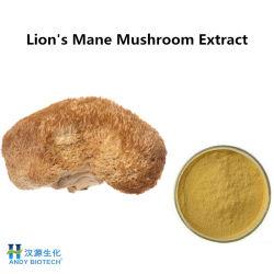 Травяной экстракт порошок Hericium Erinaceus львиную Мане грибов