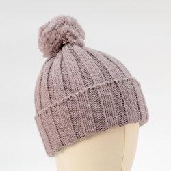 Les femmes de base de la nervure de haute qualité tricoté Hat