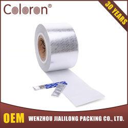 Impresso em papel laminado de Alumínio Filme para o atador de gomas de mascar