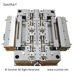 accesorios para tuberías de plástico personalizada OEM molde de inyección de codo/T/válvula