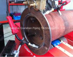 Flansch-Rohr-automatisches Schweißgerät - Beleg auf Flansch