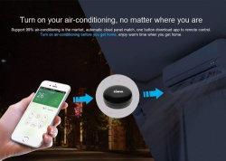 Intelligentes Ausgangsuniversalfernsteuerungs für Apple androide Fernsehapparat-Klimaanlagen-gesetzten Spitzenkasten DVD oder anderes IR-Steuerelektronik-drahtloses Fernsteuerungs