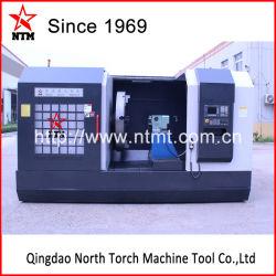 Professionele CNC-draaimachine voor het draaien van flens, aluminiummatrijs, propeller (CK64160)