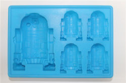 Внеземных существ силиконовой резины Ice Cube в лоток для бумаги