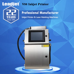 V98 만기 날짜를 인쇄하는 지속적인 추첨 번호 인쇄공 코딩 기계