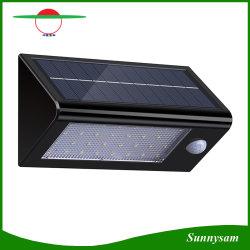 Датчик движения солнечной энергии 32 LED солнечной лампа наружного освещения сада во дворе безопасности настенный светильник водонепроницаемый IP65