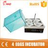 Mini incubatrice dell'uovo di Hhd in incubatrice Yz9-4 del rettile dell'incubatrice della paraffina del Qatar