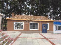 Desert Tan Hexgonal Building dak Materiaal Mozaïsche muur tegels