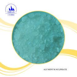 أبيض يتقشّر ألومنيوم [سولفت] (ألومنيوم كبريتات) لأنّ [وتر ترتمنت]