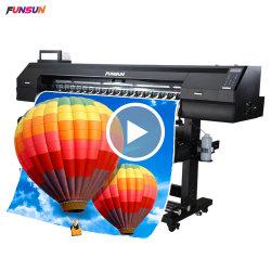 Funsunjet Fs-1800K большой открытый формат виниловой наклейке принтера (1,8 м, 1440 т/д, DX5 блока цилиндров, экономических и хорошее качество)