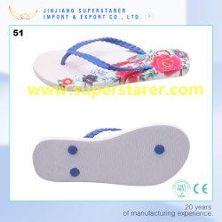 PE Шлепанцы женщин обувь Eith передача тепла печать цветов внутренняя подошва