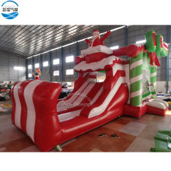 Оптовая торговля 7.2X4.5X4.7m Рождество надувной Санта Bouncer с