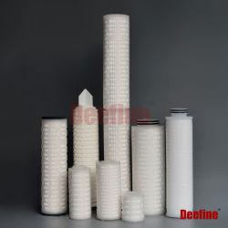 PES/PVDF/Nylon/PTFE Membrane liquid&water Filtereinsatz für Hülle-/Sartorius-/Nesselkoralleabwechslung