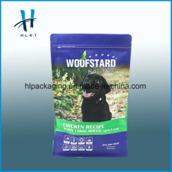 Stand-Up Organic Pet Food Bag/Plastic Dog Treat Packaging