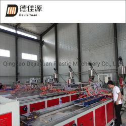 PVC Carte WPC Decking/panneau Ligne de production de Profil de l'extrusion de la machinerie de Sjz80/156