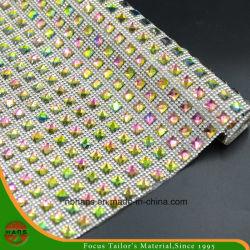 ハンズの昇進の安いPirceの熱伝達の付着力の水晶樹脂のラインストーンの網