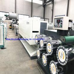 Máquina extrusora de monofilamento de PET de filamentos de la máquina de extrusión de plástico de la barredora