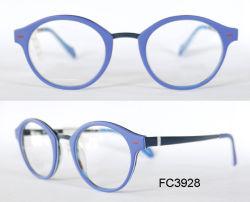 L'acétate de haute qualité professionnelle à la main avec des verres de lunettes de métal