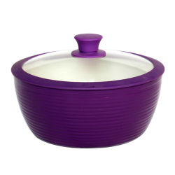 Silicone che cucina i POT e le vaschette, articolo da cucina, insieme del Cookware