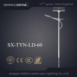 60W 100 Вт 120Вт Светодиодные солнечного освещения улиц с полюса (SX-Тин-LD-60)