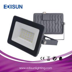 Marcação RoHS LVD SMD de Alta Potência 20W, 30W, 50W, 70W 100W Holofote LED de exterior com alojamento preto