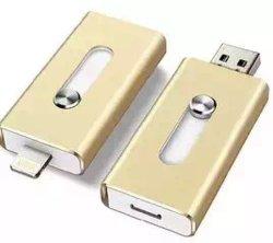 جهاز USB من نوع OTG لجهاز iPhone وAndroid وجهاز PC Pendrive