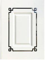 Le design de mode MDF en PVC avec moulage porte armoire de cuisine