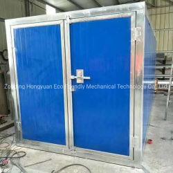 Poedercoating van oven met gas/diesel/oliebrander of elektrische verwarmers