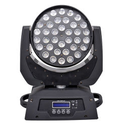 4 In1 ضوء LED يتحرك للرأس Stage بقوة 36*3 واط مع زووم